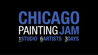 Chicago Painting Jam - Six Fantasy/Comic artists in one studio for three days