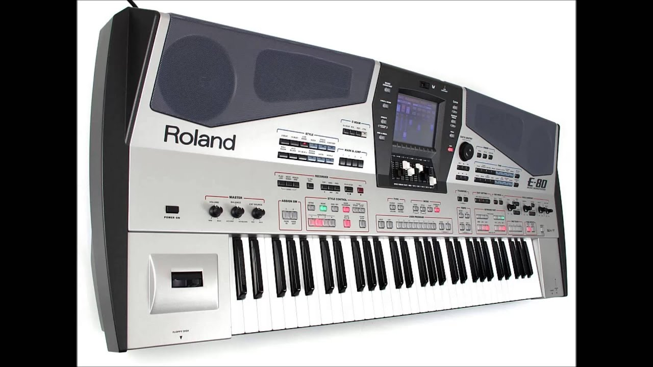 pilation of Top Hits at Roland E80