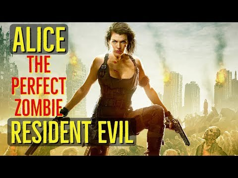Alice (THE PERFECT ZOMBIE) Resident Evil Explained