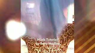 Tutorial Hijab Katun Rawis simple