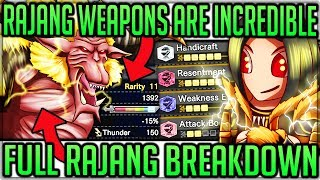 RAJANG IS INCREDIBLE - Turf Wars + Weapons/Armor Review + New Map - Monster Hunter World Iceborne!
