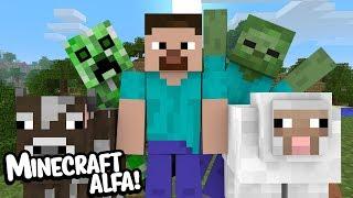 Minecraft: JOGANDO O MINECRAFT ALFA 7 ANOS DEPOIS!!!