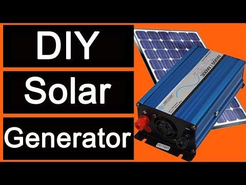 DIY Solar Generator with Aims Power 600 watt Pure Sine Power Inverter