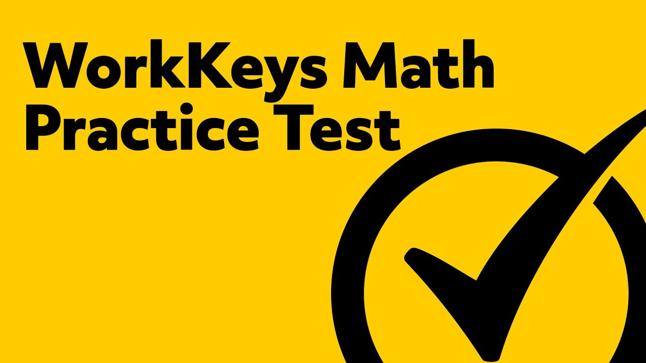 Free WorkKeys Math Practice Test Questions - YouTube