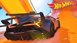 Forza Horizon 3 Lamborghini Veneno Hot Wheels Goliath