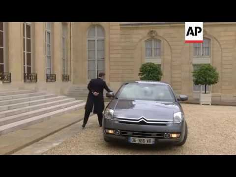 French Pres Macron attends first Defence Council