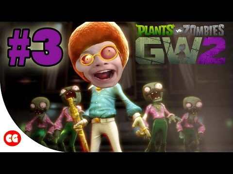 WELCOME TO THE BRAINS PARTY | Plants vs. Zombies Garden Warfare 2 - #3