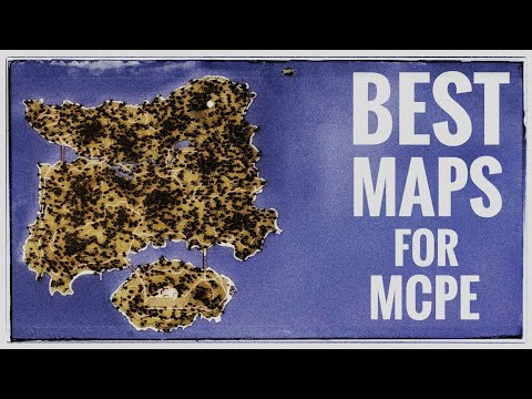 TOP-5 BEST Survival, Adventure, Parkour Maps For MCPE // You WANT To See IT //