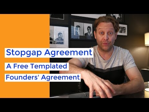 Partnership And Founders Agreement Template