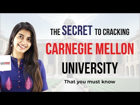 How To Get Admission In Carnegie Mellon University MS In CS (2019)   MS in US