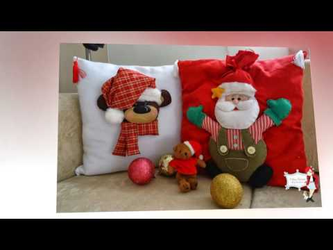 Подушки декоративные новогодние. Christmas decorative pillows.