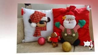 Подушки декоративные новогодние. Christmas decorative pillows