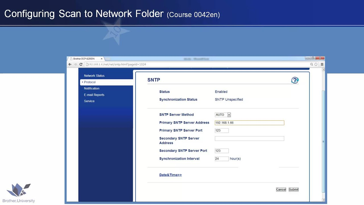 Use and Configure Scan to Network Folder