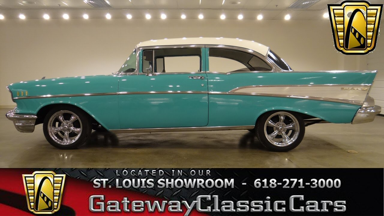 Cars For Sale St Louis >> 1957 Bel Air stock# 6251 Gateway Classic Cars - YouTube