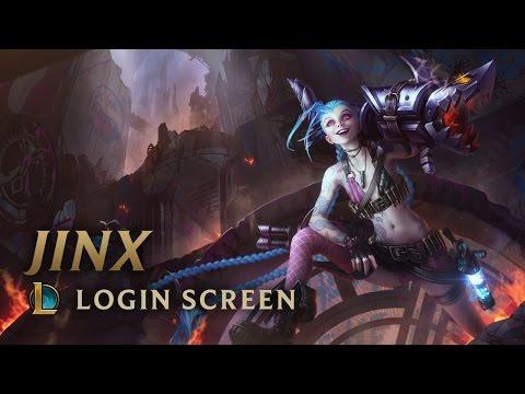 Jinx, the Loose Cannon | Login Screen - League of Legends
