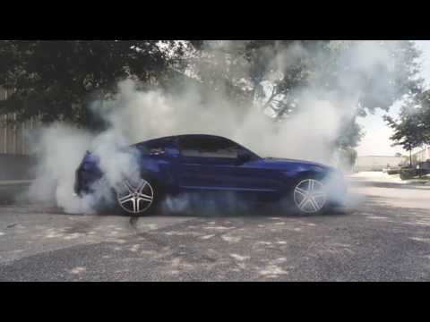2013-14 Mustang 3.7L How To Do A Burnout