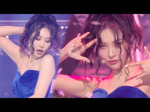 Sunmi - Pporappippamㅣ선미 - 보라빛 밤 [SBS Inkigayo Ep 1056]
