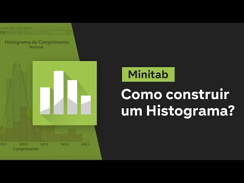 Como construir um HISTOGRAMA no MINITAB? Minitab - Aula 1 from YouTube · Duration:  10 minutes 53 seconds