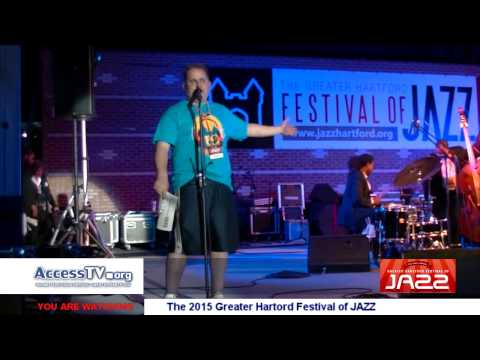 W4 News - The Greater Hartford Festival of Jazz 2015 - 7/17/2015