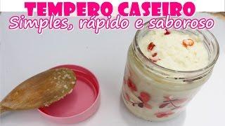 TEMPERO CASEIRO ULTRA SABOROSO – Fácil e Rápido – Comida DELICIOSA SEMPRE
