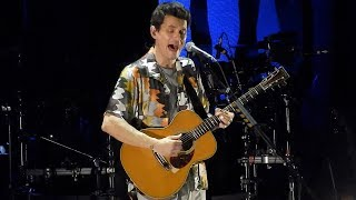 John Mayer - Your Body Is A Wonderland - Fiserv Forum - Milwaukee, WI - August 6, 2019 LIVE