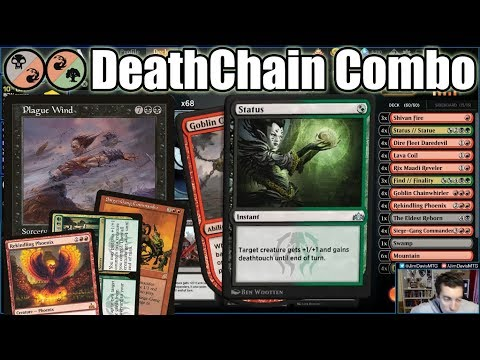 We Finally Have The Manabase To Build Our Own Plague Wind With Goblin Chainwhirler in Standard!