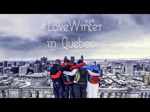 Love Winter in Quebec