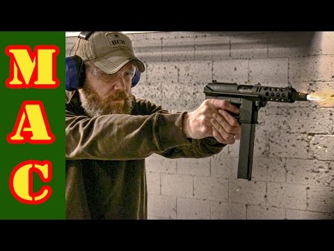 Intratec TEC-9 pistol - YouTube