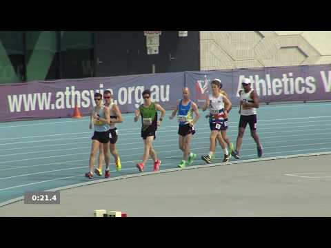 2018 Vic Open Champs: Men 5km Walk