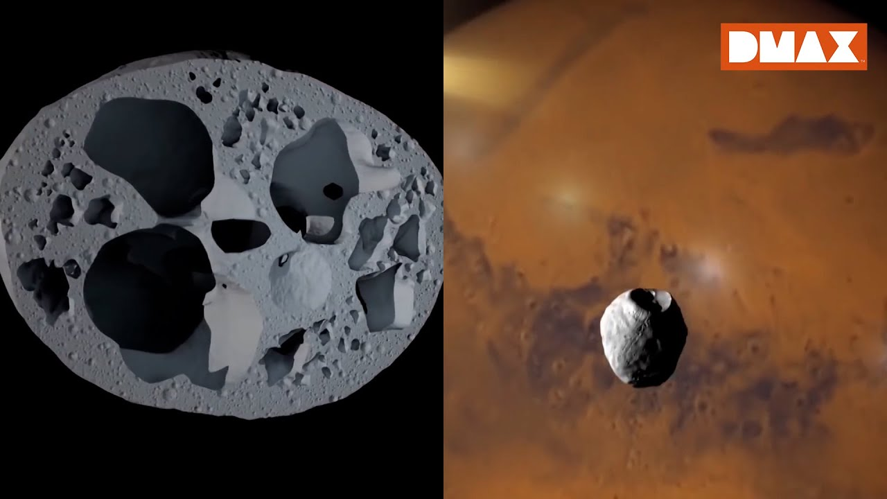Mars'ın Uydusunun İçi Neden Boş?