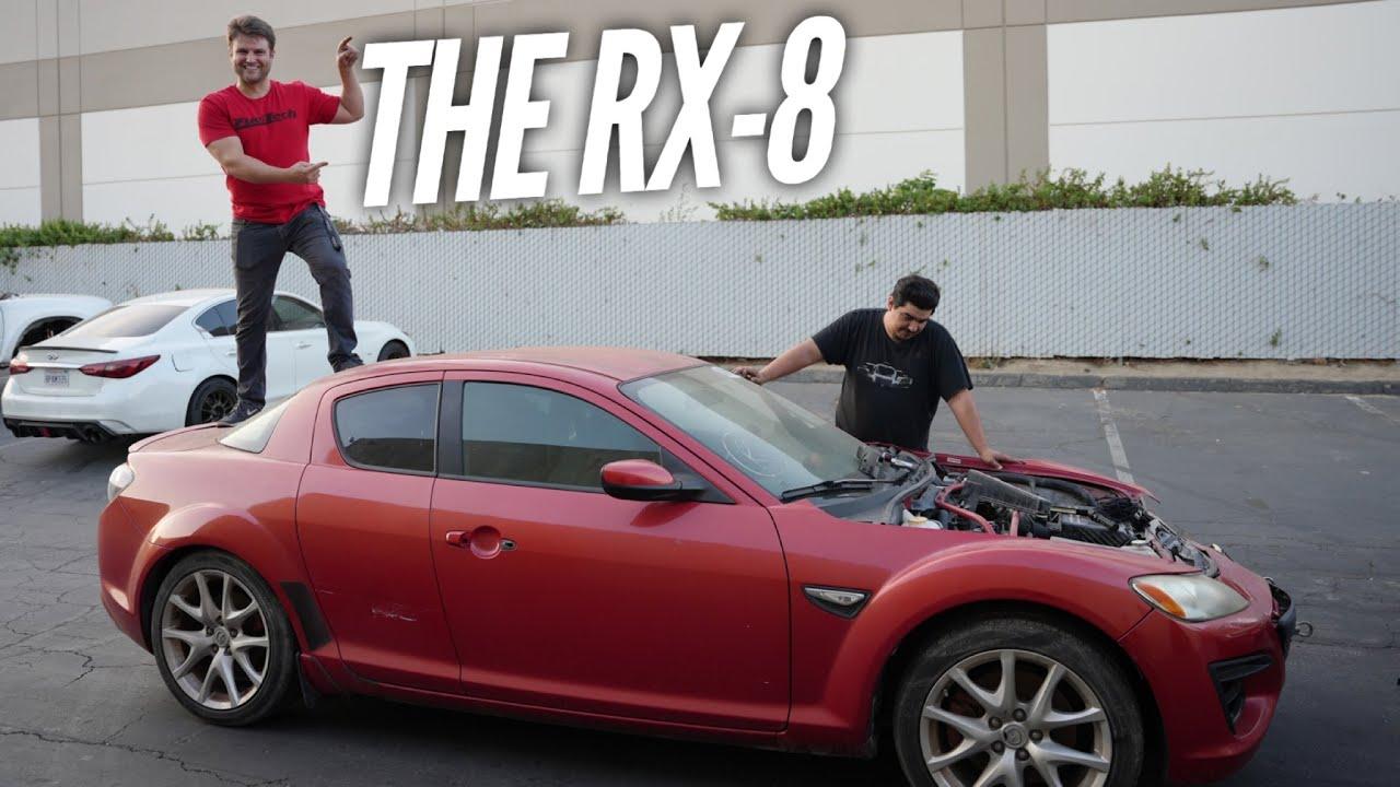Isaiah buys his dream car! A Mazda RX-8 that doesn't run