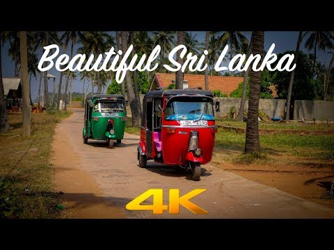 Beautiful Sri Lanka | Travel Video | 4K