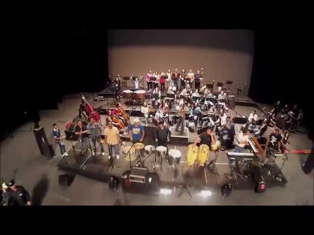 Los Ángeles Azules y su Cumbia Sinfónica preparando todo para recibirlos en Guadalajara hoy!