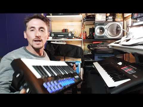 Keytar ALESIS VORTEX WIRELESS 2 con IPad o Android + teclado Audio In ( Español ) parte1