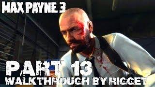 Max Payne 3 (PS3) Прохождение Часть 13