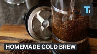 The keys to making the best homemade cold brew