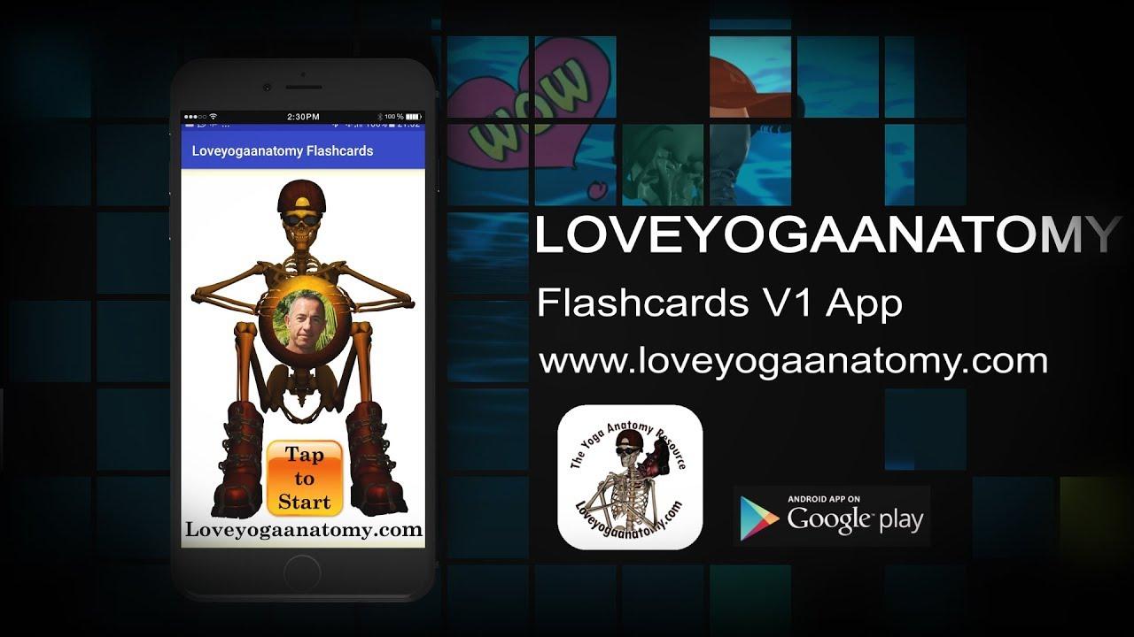 Learn Basic Anatomy Flashcard App - YouTube