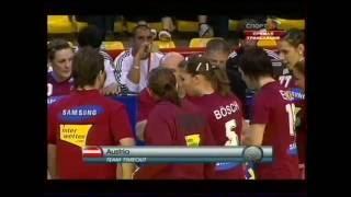 Гандбол. Чемпионат Европы среди женщин 2008.  Россия - Австрия