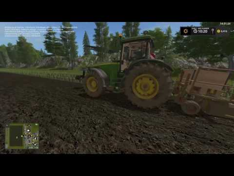 Pine Cove Farm final ver. Farming Simulator 17 ep.16 'fuel use mod'