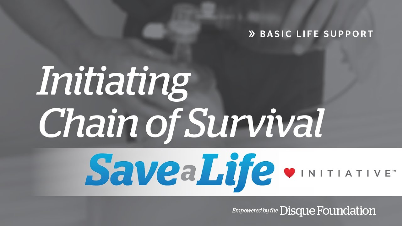 1a initiating chain of survival basic life support bls youtube initiating chain of survival basic life support bls xflitez Gallery
