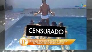 Ronaldinho Gaúcho marca 'goleada' em popozudas
