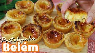 Pastelzinho De Nata – Receita Portuguesa