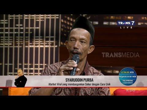 VIRAL, Marbot Masjid Bangunkan Sahur Dengan Cara Unik | HITAM PUTIH (21/05/19) Part 21