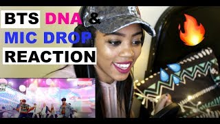 BTS DNA & MIC DROP LIVE COMEBACK SHOW REACTION MP3