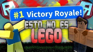 IF LEGO AND FORTNITE JOIN THIS HAPPENS! HOW EASY THIS BR! ROBLOX BATTLE ROYALE