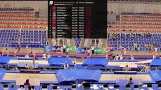 Чемпионат России по прыжкам на батуте 2019 года День 1 БАТУТЫ