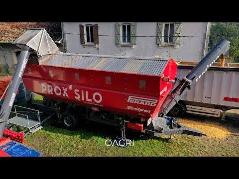 CONCEPT UNIQUE : SILO MOBILE EN FRANCE AU MAIS GRAIN 2019 !