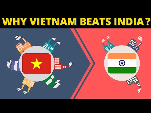 Why India Lags Behind Vietnam's Manufacturing?