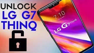 How to Unlock LG G7 ThinQ