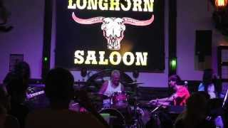 "Live Remix Pink Floyd. ""Another brick in the wall"". Long Horn Saloon. Ao Nang, Krabi. Thai. 2014"